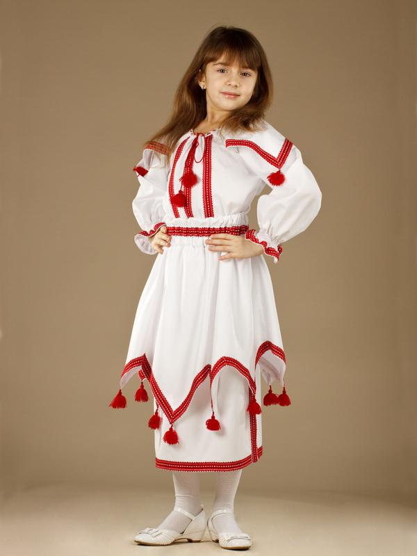 Вишитий костюм для дівчинки ЖК 41-10