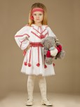 Вишитий костюм для дівчинки ЖК 45-11
