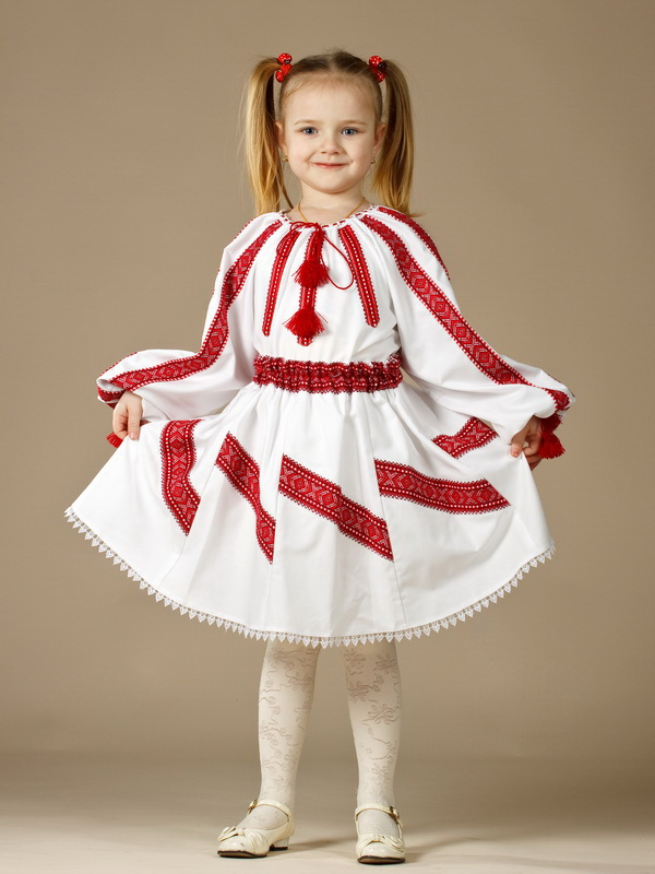 Вишитий костюм для дівчинки ЖК 59-13