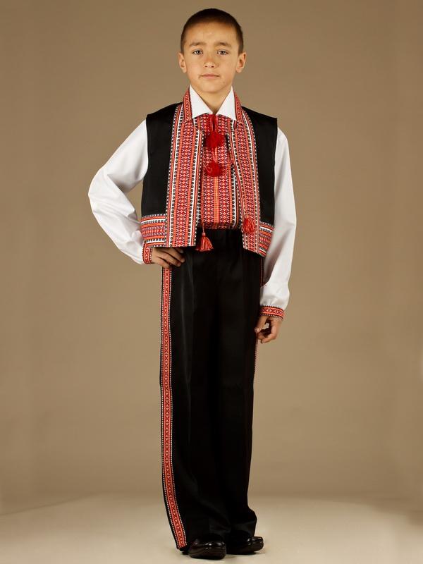 Вишитий костюм для хлопчика КХ 1-2