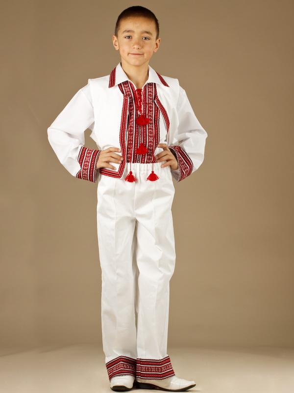 Вишитий костюм для хлопчика КХ 3-9 - купити 163839caeb458