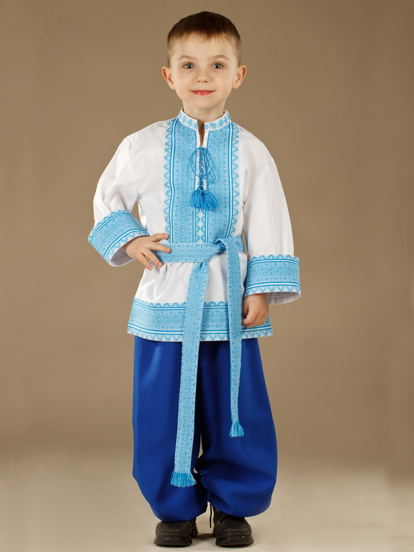 Вишитий костюм для хлопчика КХ 10-12