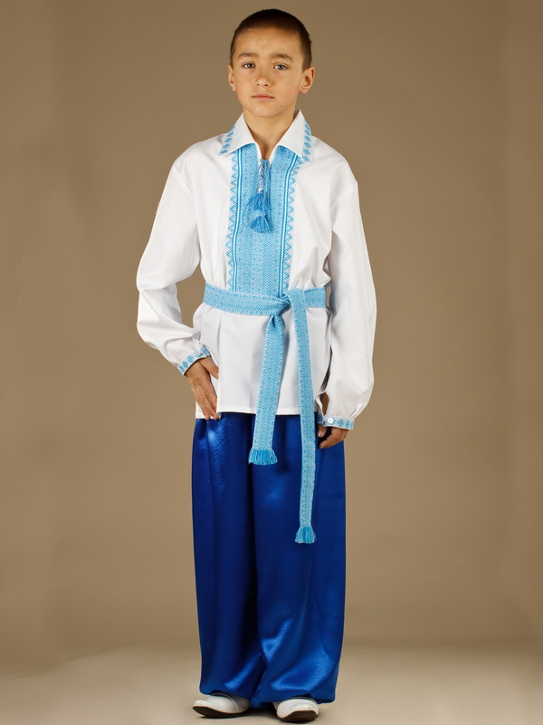 Вишитий костюм для хлопчика КХ 12-12