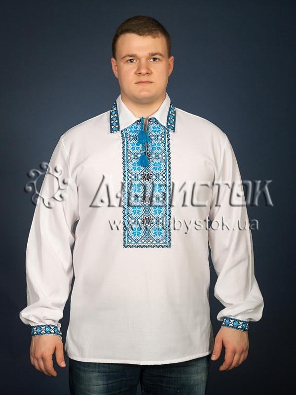 Вишита сорочка хрестиком ЧСВ 9-2