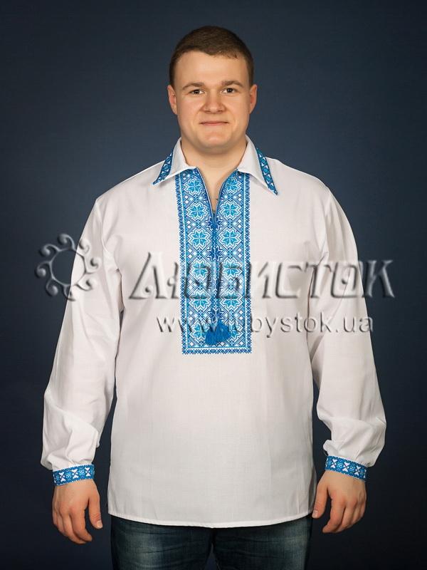Вишита сорочка хрестиком ЧСВ 9-3