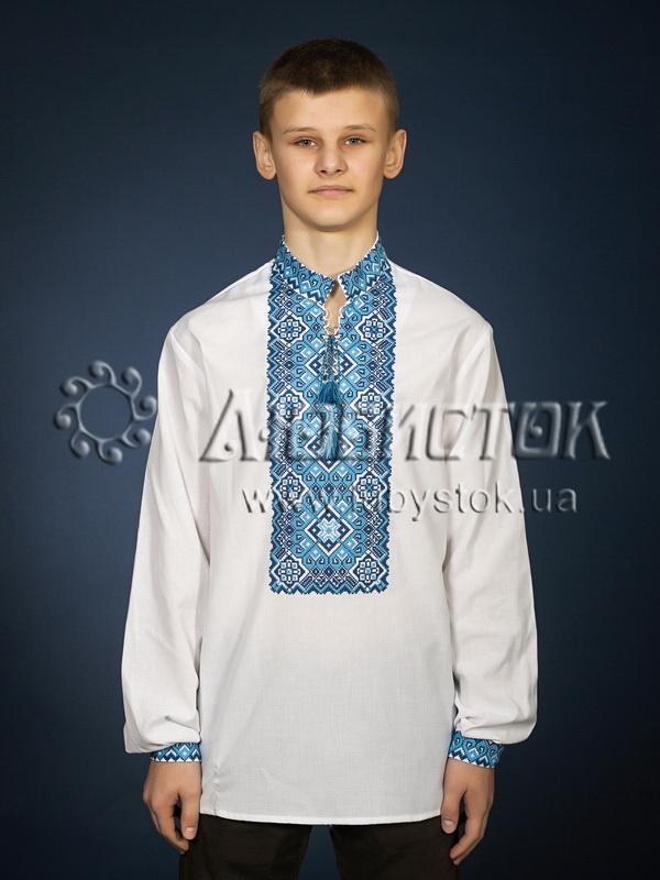 Вишита сорочка хрестиком ЧСВ 11-4