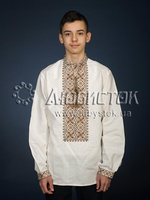 Вишита сорочка хрестиком ЧСВ 12-4