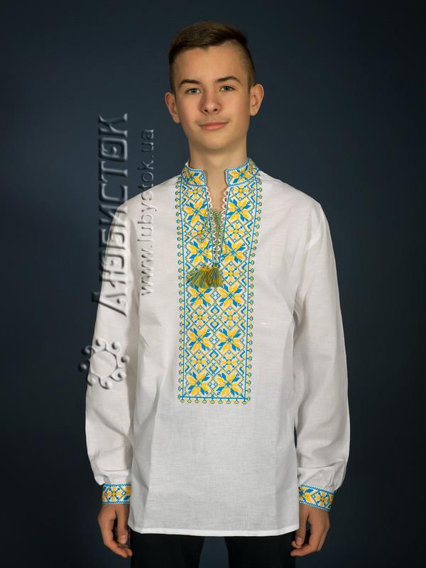 Вишита сорочка хрестиком ЧСВ 12-6