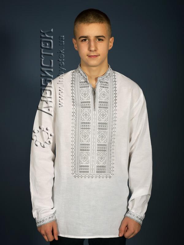 Вишита сорочка гладдю ЧСВ 13-3