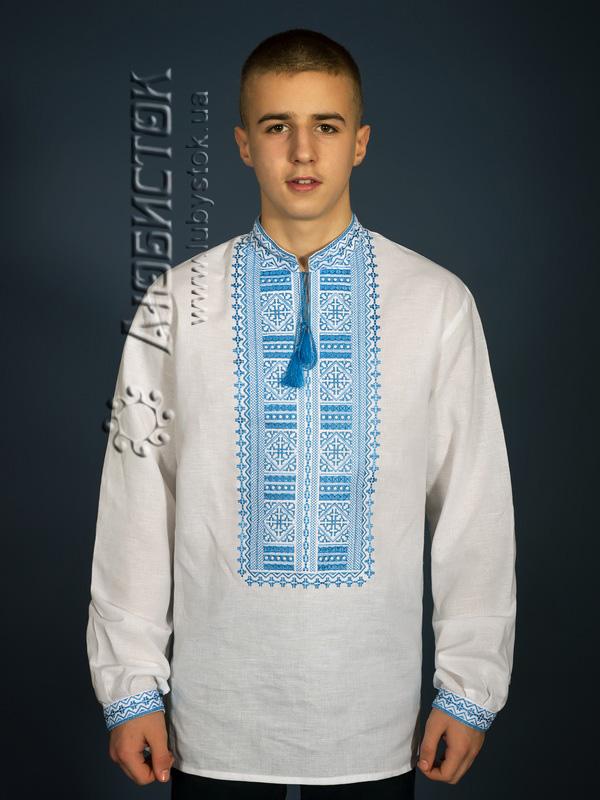 Вишита сорочка гладдю ЧСВ 13-5