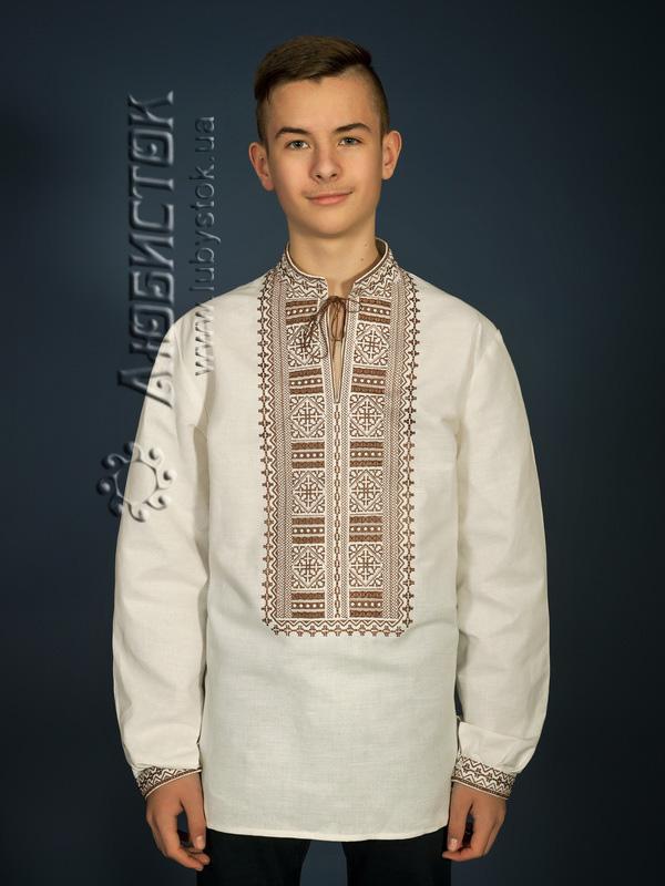 Вишита сорочка гладдю ЧСВ 13-6