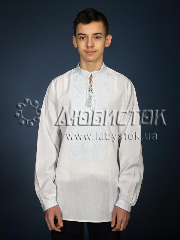 Вишита сорочка хрестиком ЧСВ 18-9