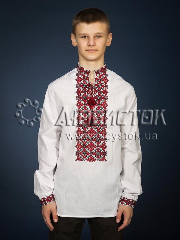 Вишита сорочка хрестиком ЧСВ 19-1