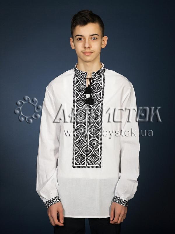 Вишита сорочка хрестиком ЧСВ 21-2