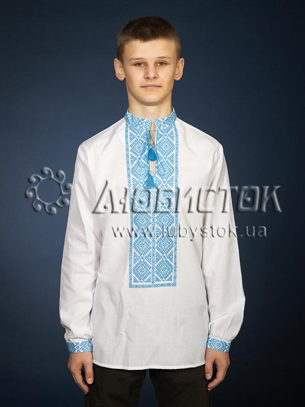 Вишита сорочка хрестиком ЧСВ 21-3