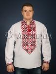 Вишита сорочка хрестиком ЧСВ 22-1