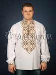Вишита сорочка хрестиком ЧСВ 22-3