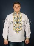 Вишита сорочка хрестиком ЧСВ 22-5