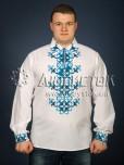 Вишита сорочка хрестиком ЧСВ 23-2