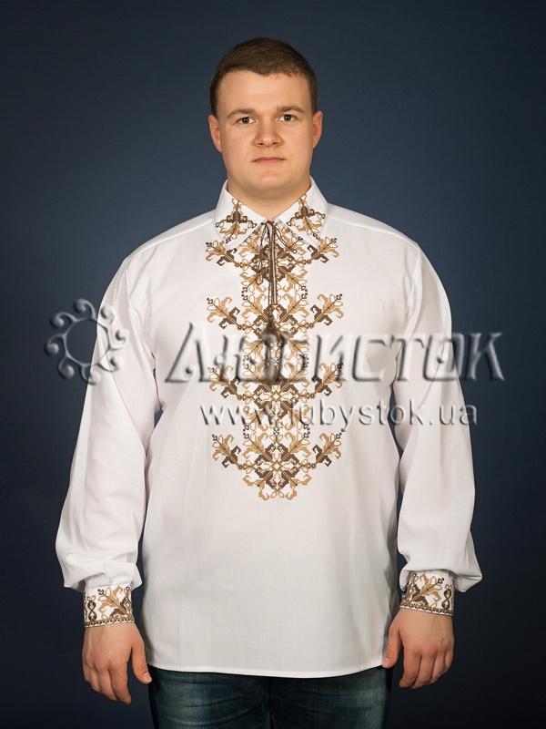 Вишита сорочка хрестиком ЧСВ 23-3