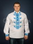 Вишита сорочка хрестиком ЧСВ 23-4