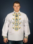 Вишита сорочка хрестиком ЧСВ 23-5