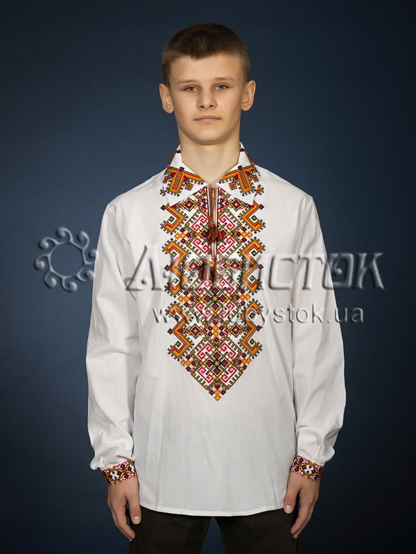 Вишита сорочка хрестиком ЧСВ 24-1