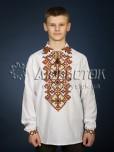 Вишита сорочка хрестиком ЧСВ 24-2