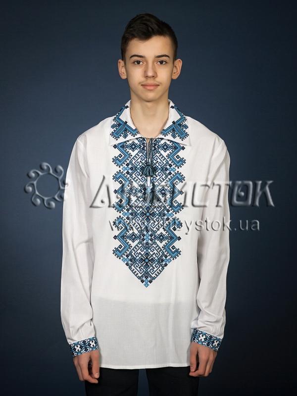 Вишита сорочка хрестиком ЧСВ 24-4