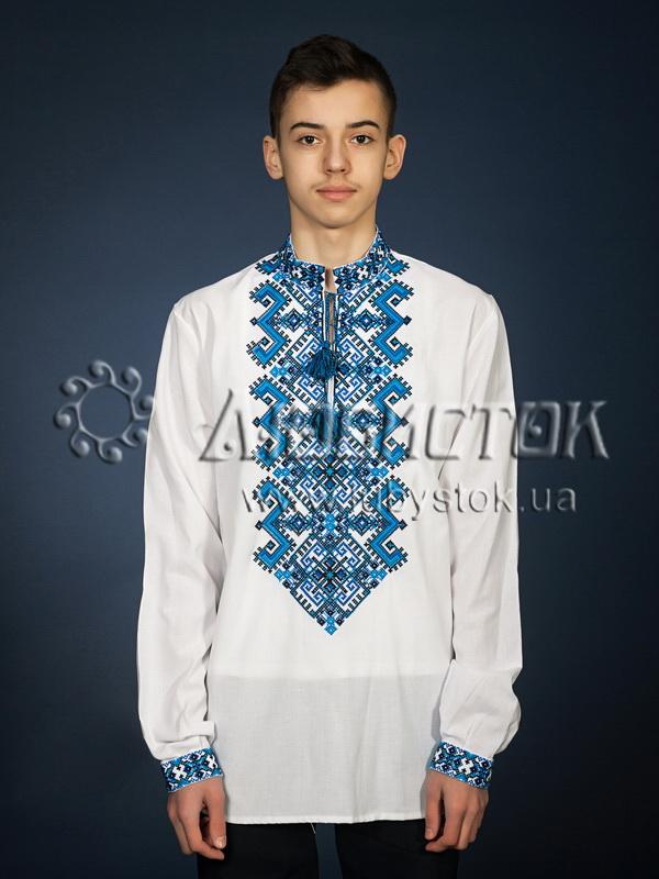 Вишита сорочка хрестиком ЧСВ 25-3