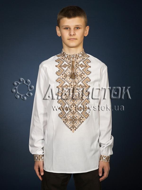Вишита сорочка хрестиком ЧСВ 25-5