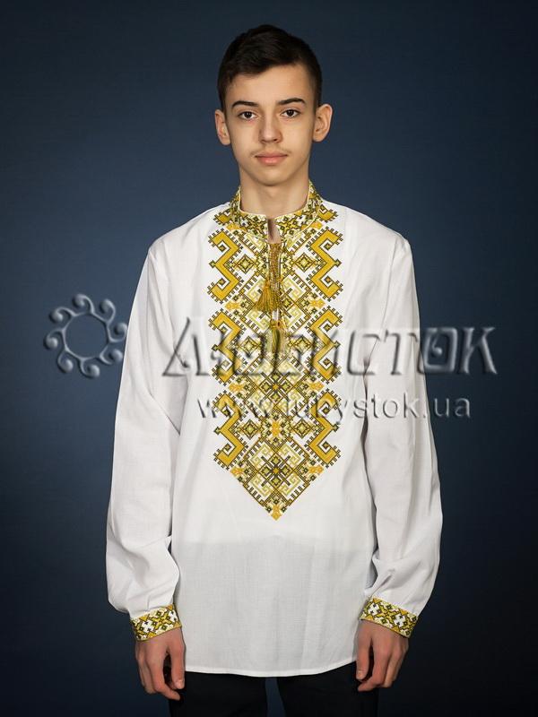 Вишита сорочка хрестиком ЧСВ 25-6