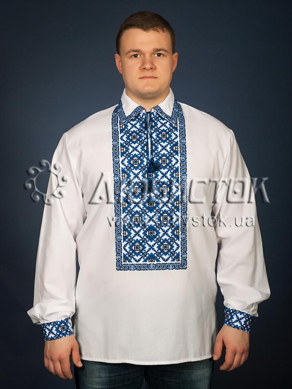 Вишита сорочка хрестиком ЧСВ 26-2