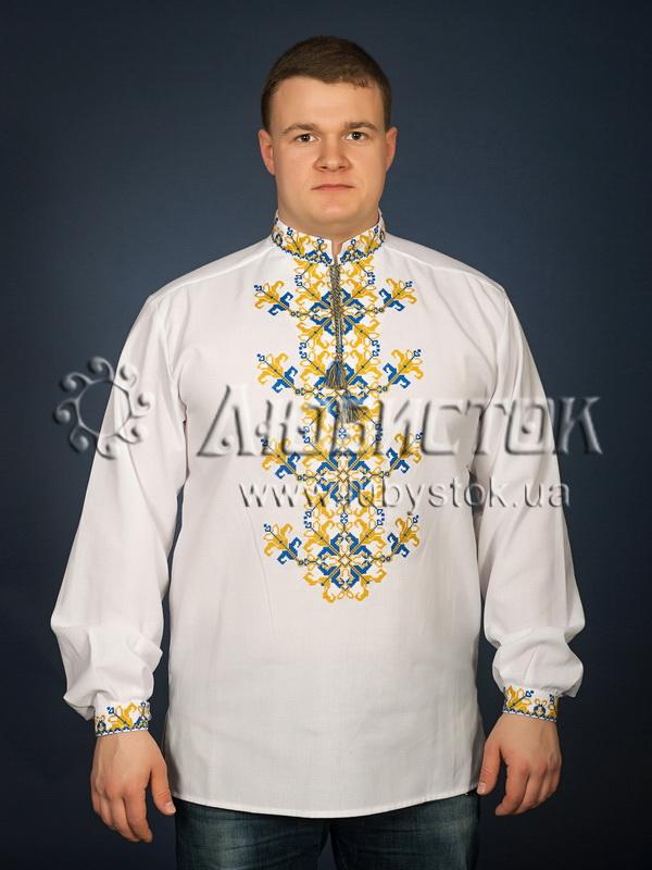 Вишита сорочка хрестиком ЧСВ 28-1
