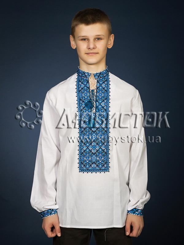 Вишита сорочка хрестиком ЧСВ 29-2