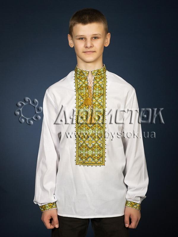Вишита сорочка хрестиком ЧСВ 29-5
