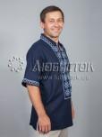 Вишита сорочка хрестиком ЧСВ 31-5