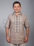 Вишита сорочка хрестиком ЧСВ 31-6