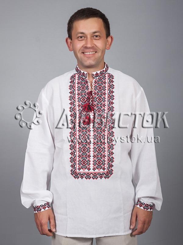 Вишита сорочка хрестиком ЧСВ 33-1