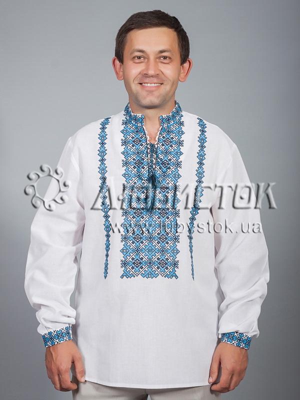Вишита сорочка хрестиком ЧСВ 34-3