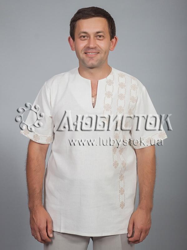 Вишита сорочка хрестиком ЧСВ 36-4