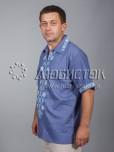 Вишита сорочка хрестиком ЧСВ 37-1