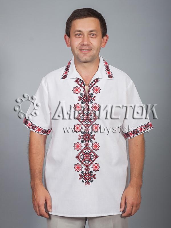 Вишита сорочка хрестиком ЧСВ 37-2