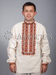 Вишита сорочка хрестиком ЧСВ 38-1