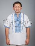 Вишита сорочка хрестиком ЧСВ 39-2