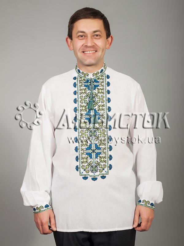 Вишита сорочка хрестиком ЧСВ 40-5