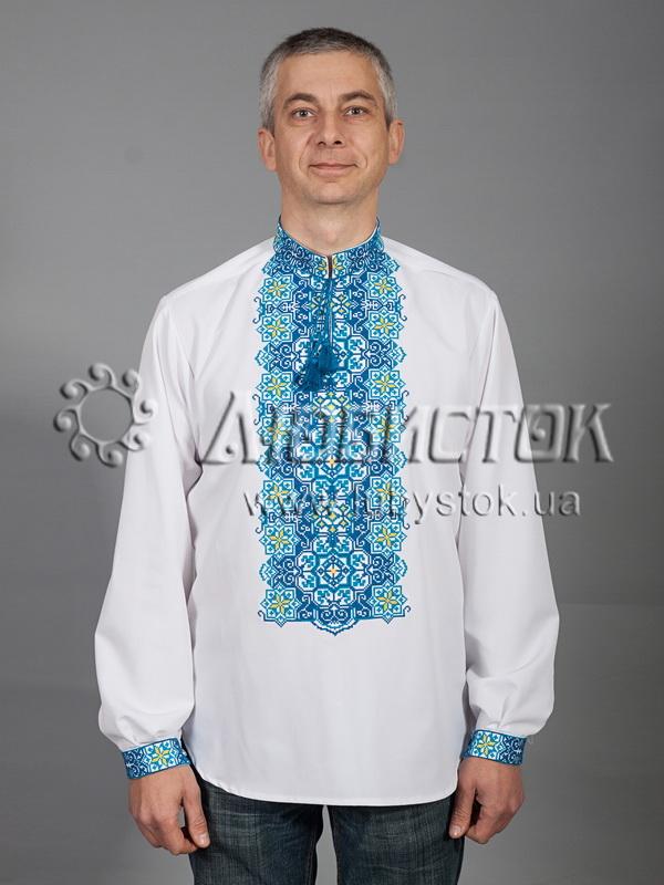 Вишита сорочка хрестиком ЧСВ 41-5