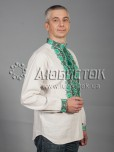 Вишита сорочка хрестиком ЧСВ 41-7