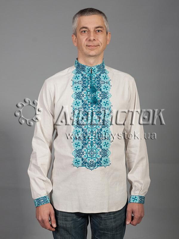 Вишита сорочка хрестиком ЧСВ 41-8