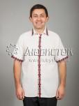 Вишита сорочка хрестиком ЧСВ 43-1
